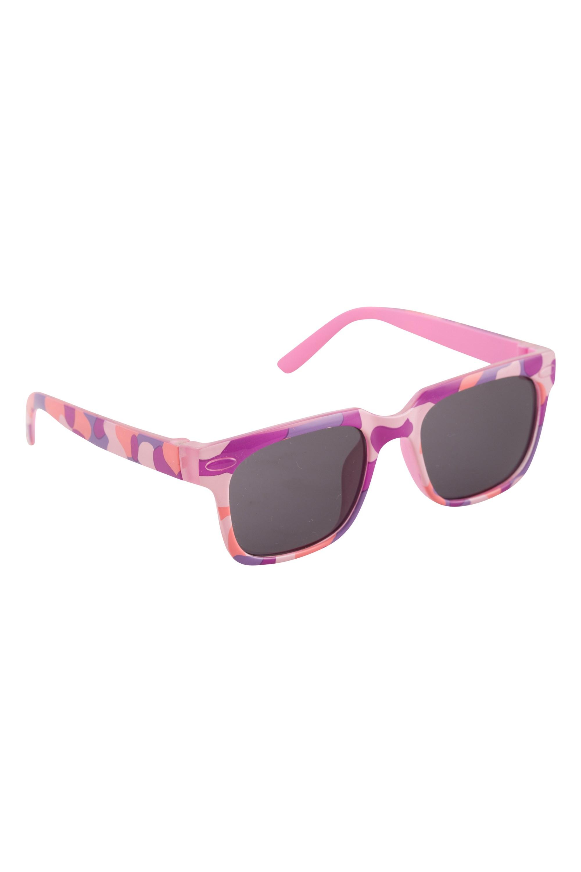 Kids Sun Pop Schmetterling Sonnenbrille, Pink & Violett