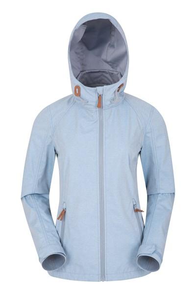 Iona Womens Softshell Jacket - Blue