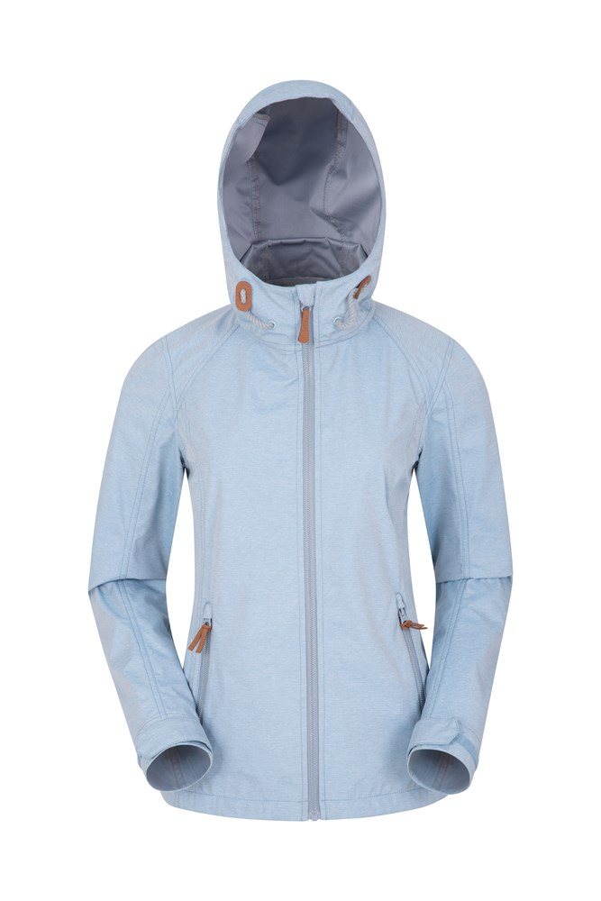 Iona Womens Softshell Jacket - Blue