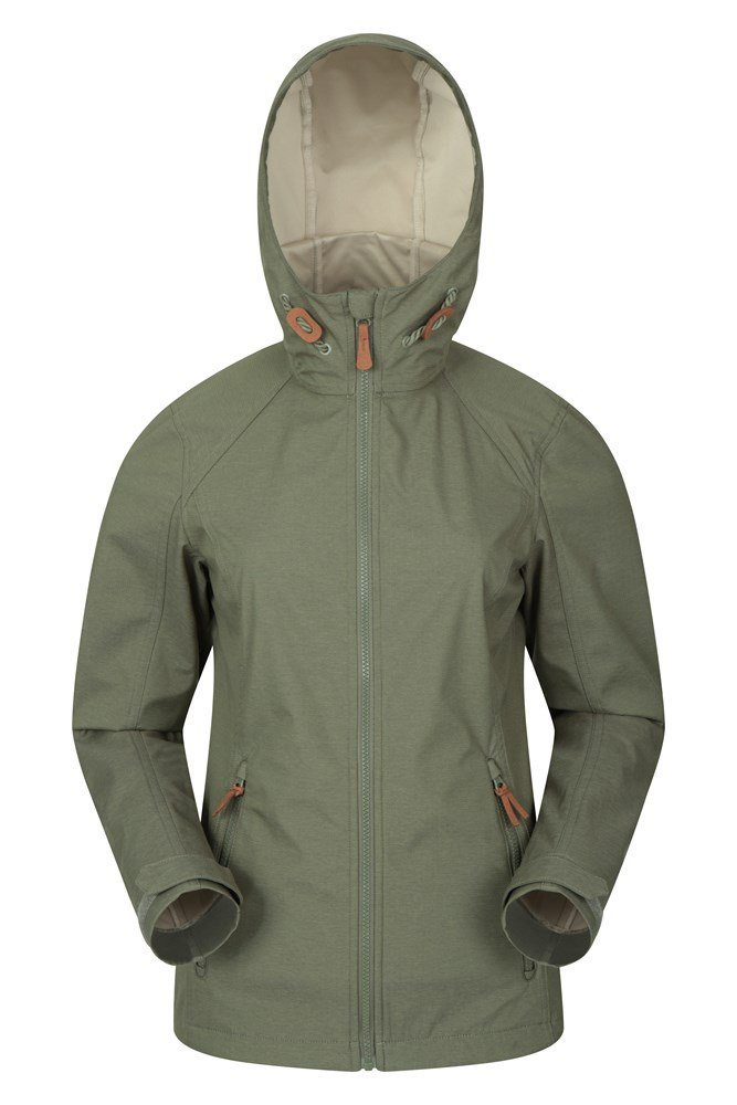 Iona Womens Softshell Jacket - Green