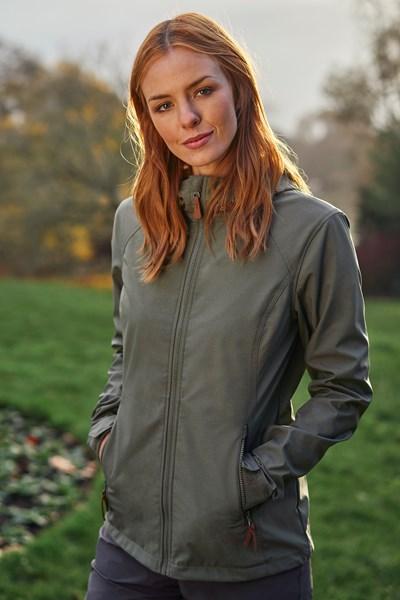 Iona Womens Softshell Jacket - Green