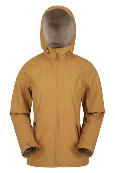 Iona Womens Softshell Jacket - Yellow