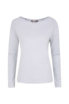 Blossom Stripe Womens Knit Top