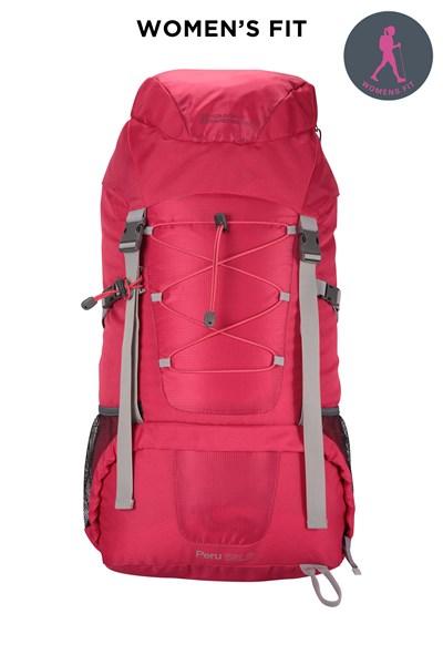 Peru 55L Backpack - Pink