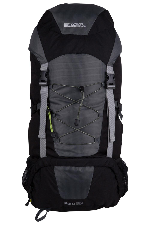 Peru 55L Backpack - Black