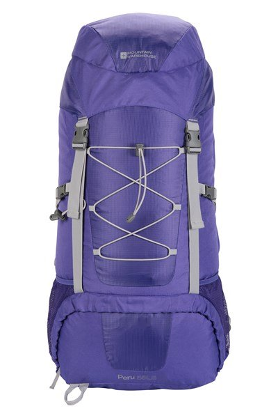 Peru 55L Backpack - Purple