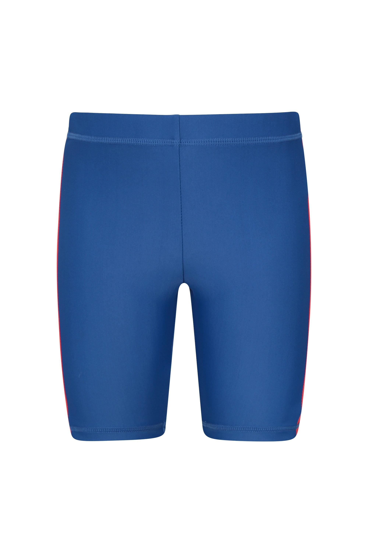 Kids Swimming Shorts - Blue