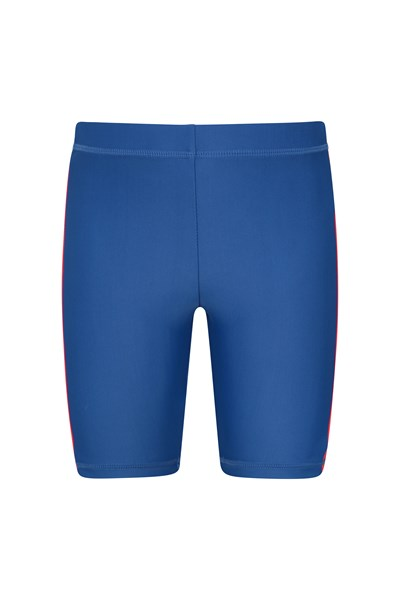 Kids Swimming Shorts - Blue