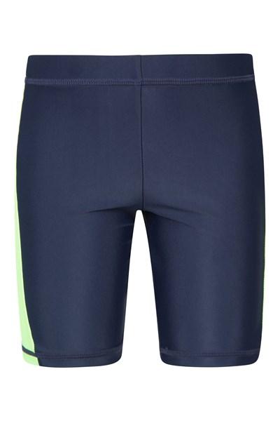 Kids Swimming Shorts - Green