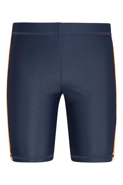 Kids Swimming Shorts - Orange