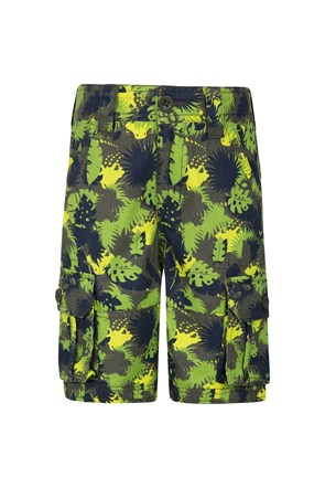 Steve Backshall Croc Camo Kids Shorts