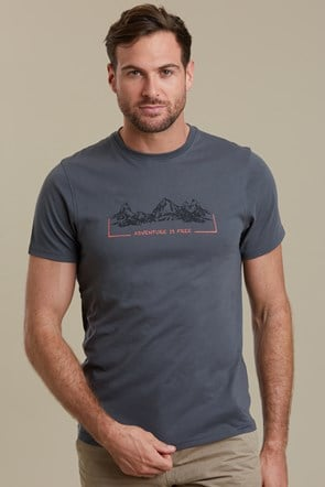 Adventure Is Free Mens Tee