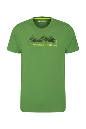 Camiseta ADVENTURE IS FREE Hombres