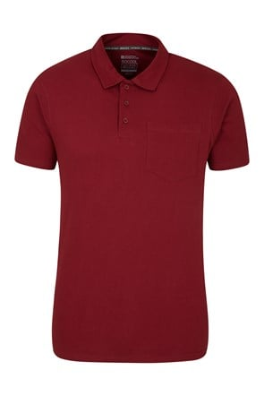 Thames Textured Mens Polo