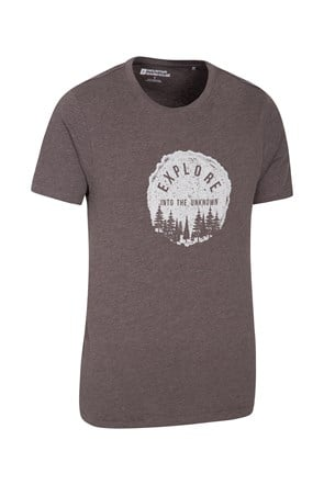 Explore Into The Unknown Mens Tee