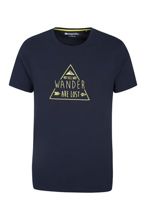 Not All Who Wander Mens Tee