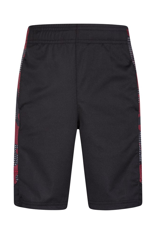 Zakti Hoop Kids Shorts - Black