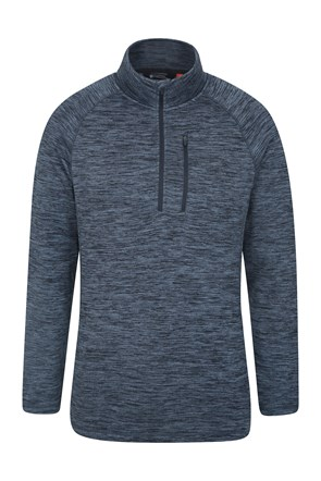 Zakti Mens Dash Half Zip Fleece