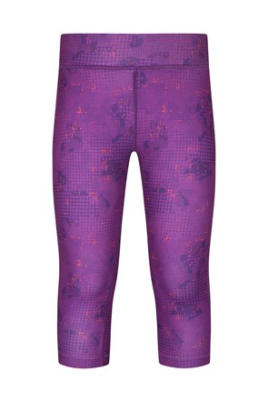 Printed Kids Capri Leggings