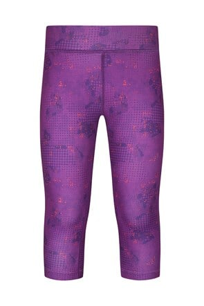 Printed Girls Capri Leggings