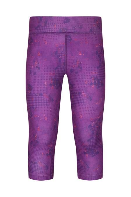 6ddf812cb59fb Printed Girls Capri Leggings | Mountain Warehouse AU