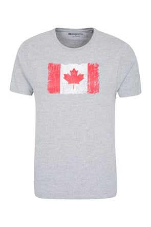 Canadian Flag Mens Tee