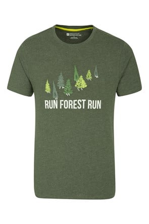 Run Forest Run Mens Tee