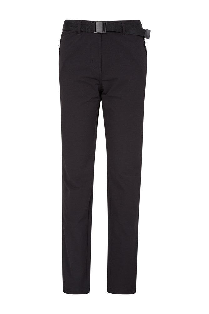 Mountain Stretch Womens Trousers - Black