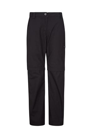 Trek II Womens Zip-Off Trousers - Short Length