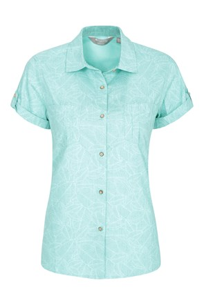 Coconut Womens Short Sleeve Shirt