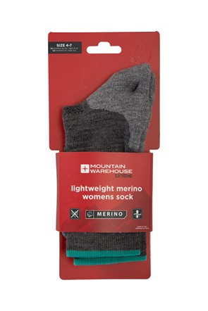 Lightweight Merino Womens Socks