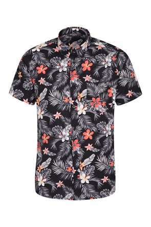 Hawaiian Short Sleeve Mens Shirt