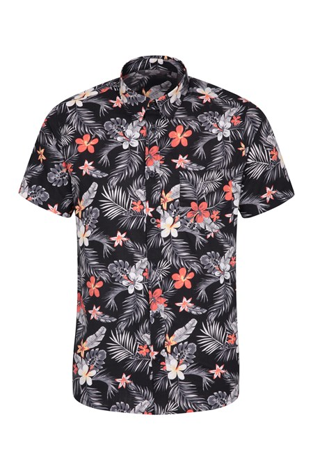 840c2283d374ab Hawaiian Short Sleeve Mens Shirt | Mountain Warehouse GB