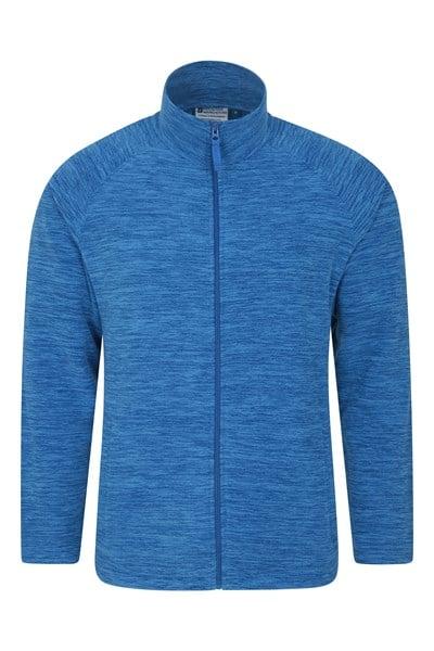 Snowdon Mens Full Zip Fleece - Blue