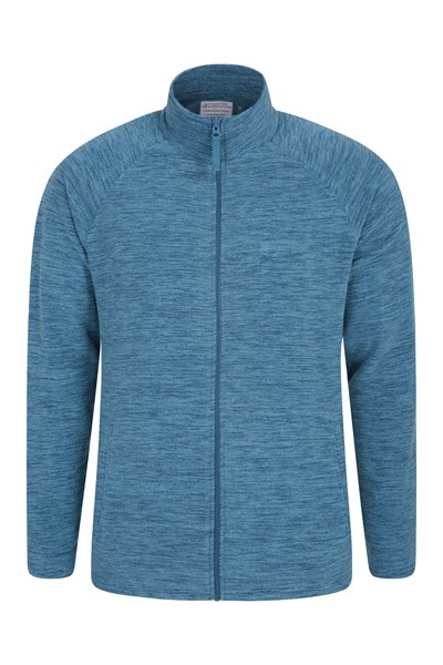 Snowdon Mens Full Zip Fleece - Dark Grey