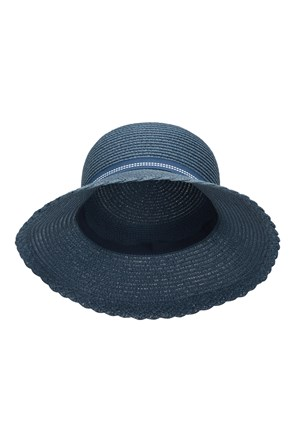 Gardening Straw Hat with Bow