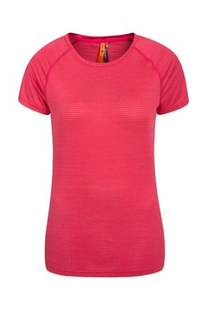 Infinity Wicking Womens Round Neck Tee