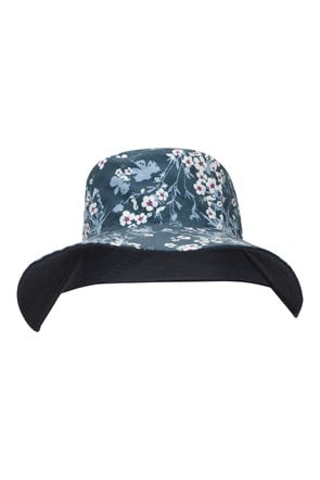 Reversible Printed Womens Brim Hat
