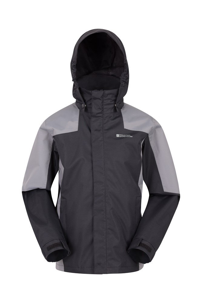 Samson II Kids Waterproof Jacket - Black