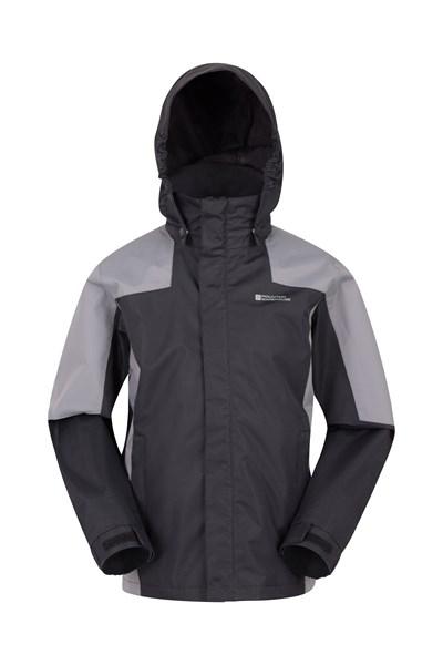 Samson II Kids Waterproof Jacket - Black