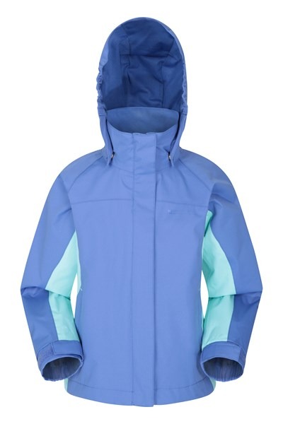 Shelly II Kids Waterproof Jacket - Blue