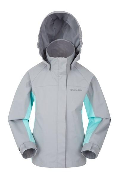 Shelly II Kids Waterproof Jacket - Grey