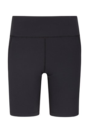Zakti Womens Get The Message Yoga Shorts