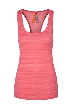 Womens Endurance Striped Vest