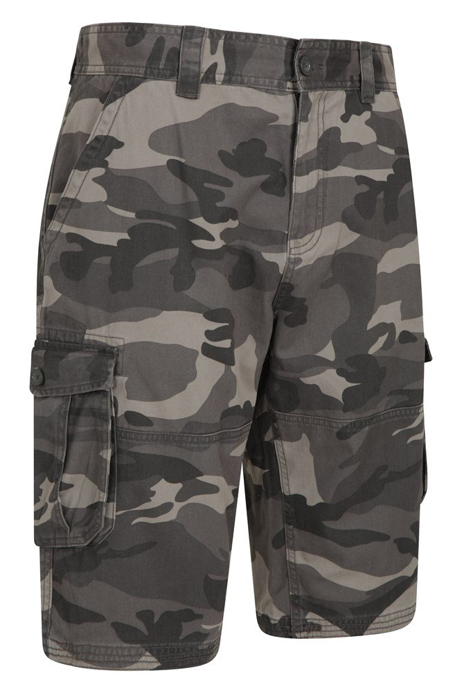 Mountain Warehouse Camo Cargo Short Lightweight /& Breathable
