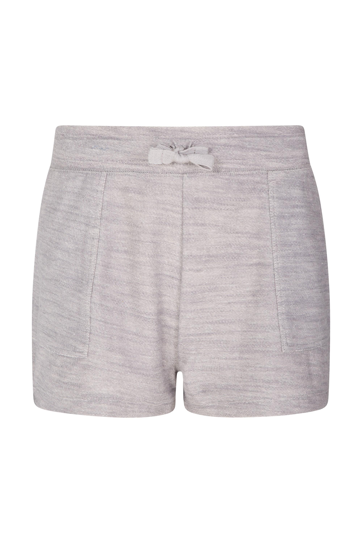 Zakti Relax Comfy Womens Shorts - Grey