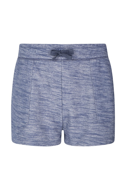 Zakti Relax Comfy Womens Shorts - Navy