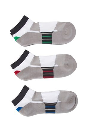 Mens Isocool Dash Trainer Socks - 3 Pack