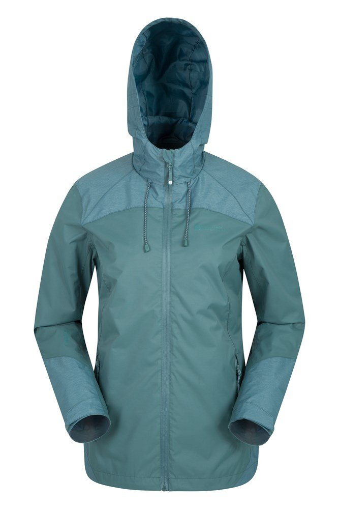 Stanford Womens Waterproof Jacket - Green 5103b801b8