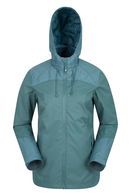 Stanford Womens Waterproof Jacket - Green